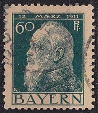Buy GERMANY Bayern Bavaria [1911] MiNr 0084 II ( O/used )