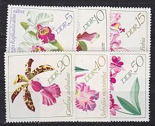 Buy GERMANY DDR [1968] MiNr 1420-25 ( **/mnh ) Blumen