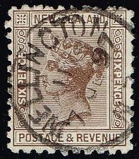 Buy New Zealand #65 Queen Victoria; Used (3Stars)  NWZ0065-02