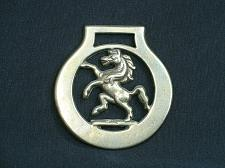 Buy Vintage Rearing Horse Medallion Harness Horse Brass Ornament Nice Detail