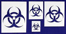 Buy Bio Hazard- 4 Piece Stencil Set 14 Mil - Painting/Crafts/Templates