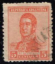 Buy Argentina #253 Jose de San Martin; Used (0.25) (0Stars) |ARG0253-02XBC