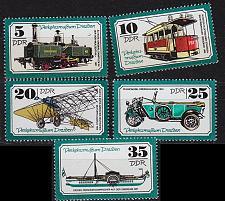 Buy GERMANY DDR [1977] MiNr 2254-58 ( **/mnh ) Verkehr