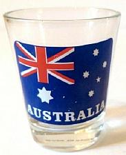 "Buy Australia Flag 2.25"" Collectible Shot Glass"