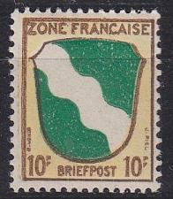 Buy GERMANY Alliiert Franz. Zone [Allgemein] MiNr 0005 ( **/mnh )