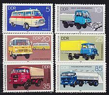 Buy GERMANY DDR [1982] MiNr 2744-49 ( **/mnh ) Autos