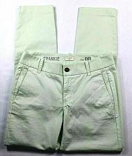 Buy NWT J.Crew Women's Frankie Chino Pants Size 00 Stretch Slim Leg Pastel Green