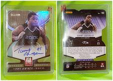 Buy NFL Timmy Jernigan Ravens autographed 2014 Panini Elite Die Cut RC /199 MNT