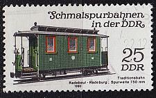 Buy GERMANY DDR [1980] MiNr 2564 ( OO/used ) Eisenbahn