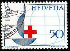 Buy SCHWEIZ SWITZERLAND [1963] MiNr 0772 ( O/used ) Rotes Kreuz