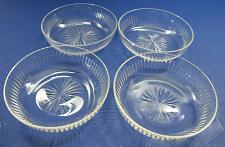 Buy Hand Cut glass dishes 4 piece
