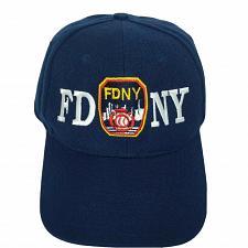 Buy FDNY Fire Department NYC EMS Baseball Strapback Hat Cap Adjustable