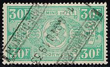 Buy Belgium #Q170 Parcel Post & Railway; Used (0.40) (3Stars) |BELQ170-03XBC