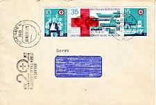Buy GERMANY DDR [1972] MiNr 1789-91 Zdr ( Brief ) Rotes Kreuz