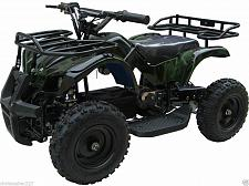 Buy Kids Four Wheeler Outdoor Ride On 24V Electric Battery Mini ATV Quad Boys Girls