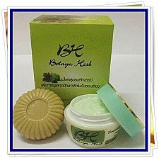 Buy BOTAYA HERB HERBAL SET CREAM+SOAP CURE ACNE WHITENING FACE TREATMENT+TRACK
