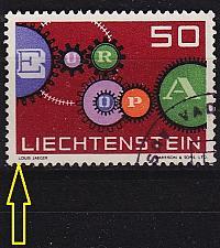 Buy LIECHTENSTEIN [1961] MiNr 0414 I ( O/used )