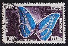 Buy LIBANON LEBANON LIBAN [1965] MiNr 0906 ( O/used ) Schmetterlinge