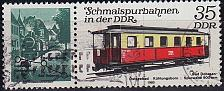 Buy GERMANY DDR [1980] MiNr 2562 WZd483 ( OO/used ) Eisenbahn