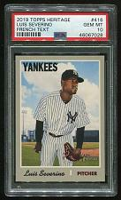 Buy 2019 TOPPS HERITAGE FRENCH TEXT LUIS SEVERINO PSA 10 GEM MINT (46067028)