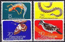 Buy LIECHTENSTEIN [1974] MiNr 0609-12 ( **/mnh ) Tiere