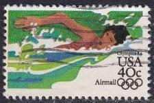 Buy USA [1983] MiNr 1624 A ( O/used ) Olympiade