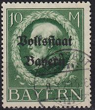 Buy GERMANY Bayern Bavaria [1919] MiNr 0132 II A ( O/used ) [01]