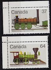 Buy KANADA CANADA [1983] MiNr 0895,96 ( **/mnh ) Eisenbahn