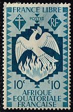 Buy French Equatorial Africa #143 Phoenix; Unused (0Stars) |FRE143-02XVA