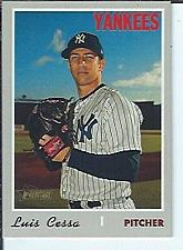 Buy Luis Cessa 2019 Topps Heritage High Numbers SP