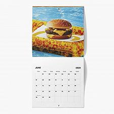 Buy New Sealed McDonald Calendar 2020 Quarter Pounder Saddle Stitched Free Shipping