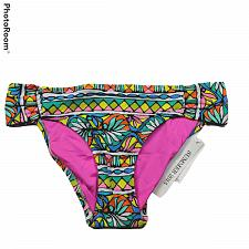 Buy NWT Trina Turk Hipster Shirred Bikini Swimsuit Bottom Size 2 Multicolor Stretch
