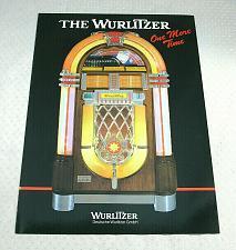 Buy 1986 Wurlitzer One More Time 45 RPM Dealer Advertising Brochure New Old Stock