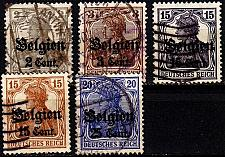 Buy GERMANY REICH Besetzung [Belgien] MiNr 0010 ex ( O/used ) [02]