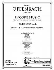Buy Offenbach - Encore Music (Concert Band)