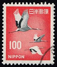 Buy Japan #888A Cranes; Used (4Stars) |JPN0888A-12XVA