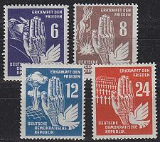 Buy GERMANY DDR [1950] MiNr 0276-79 ( **/mnh )