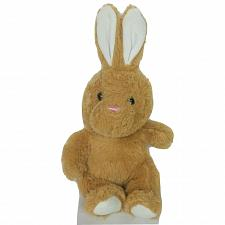 Buy Hug Fun International Easter Bunny Brown Rabbit Plush Stuffed Animal 12""