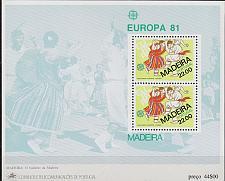 Buy PORTUGAL [Madeira] MiNr 0070 Block 2 ( **/mnh ) CEPT