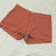 Buy UNIQLO Womens Shorts Size 6 Chedron Chino Pockets 100% Cotton