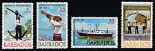 Buy Barbados #294-297 Bridgetown Harbor Police; Unused (3Stars) |BAR0297set-01