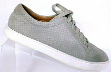 Buy Caslon Women's Gray Suede Fashion Sneakers Lace Up Shoes Size 7 M