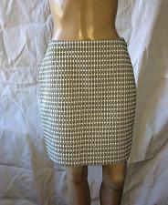 Buy ANN TAYLOR SKIRT SIZE 2 Cotton White and black Worn once