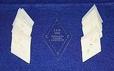 """Buy Mylar 1.5"""" Sides Diamonds 51 Piece Set - Quilting / Sewing Templates"""