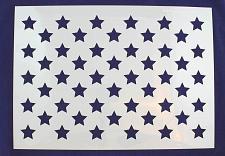 "Buy 50 Star Field Stencil 14 Mil -14""H X 19.6L"" - Painting /Crafts/ Templates"