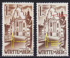 Buy GERMANY Alliiert Franz. Zone [Württemberg] MiNr 0013 yv II,III ( **/mnh ) [01]