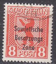 Buy GERMANY Alliiert SBZ [Allgemein] MiNr 0202 ( O/used )