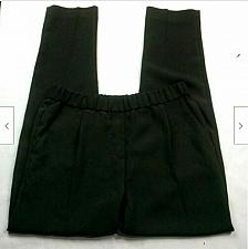 Buy Vince Camuto Womens Skinny Dress Pants Size XS Solid Black Pull On Pleated
