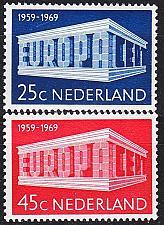 Buy NIEDERLANDE NETHERLANDS [1969] MiNr 0920-21 ( **/mnh ) CEPT