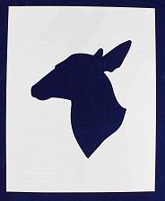 "Buy Doe Head Stencil S-Mylar 14 Mil 17.5""H X 14""W - Painting /Crafts/ Templates"